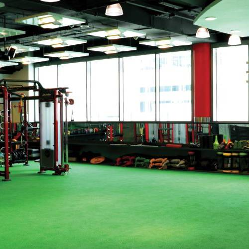 Fitness First Dubai Financial center freestyle area