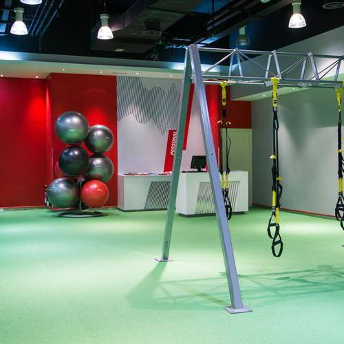 Fitness First Safeer mall personal training area