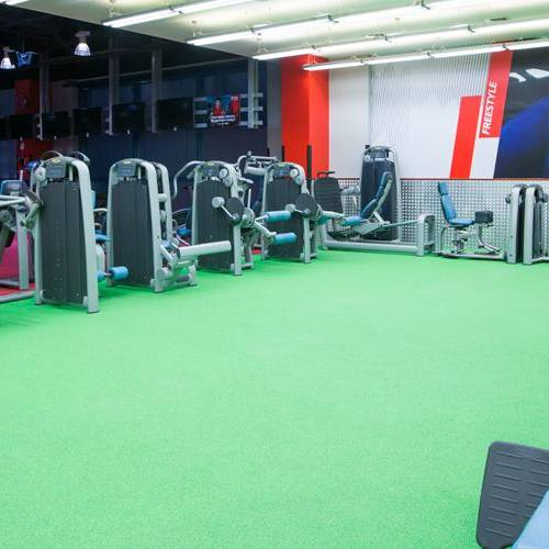 Fitness First Safeer mall freestyle fitness area