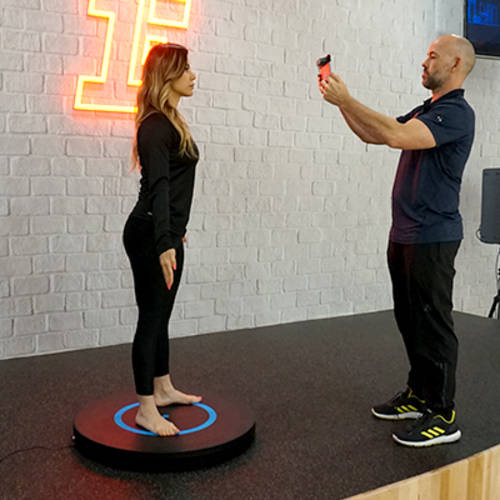 Fitness First 3D body Scanner