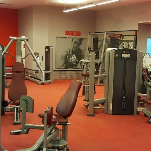 Fitness First Uptown Mirdif personal training area