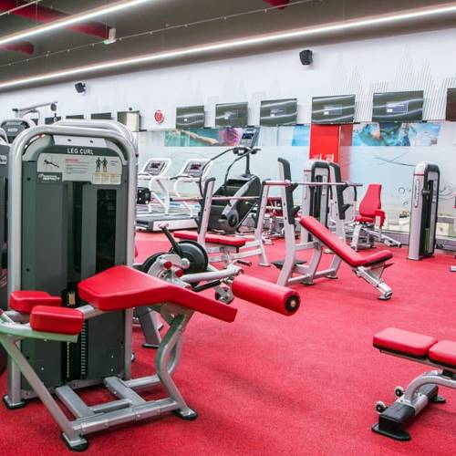 Fitness First Zero 6 strength exercise area