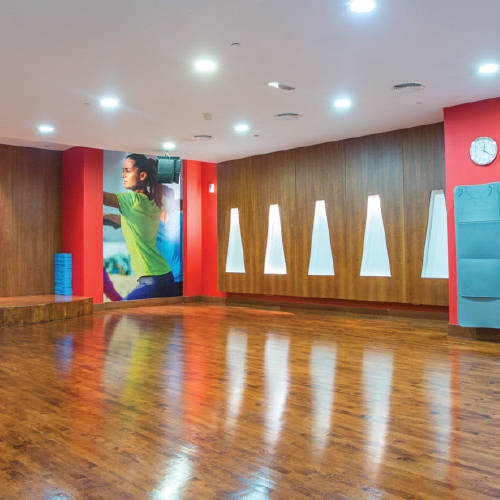 Fitness First Oasis center yoga studio