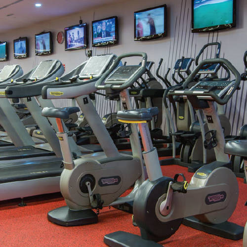 Fitness First Oasis center cross trainers and treadmills