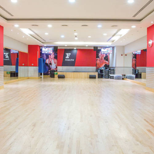 Fitness First Oasis center workout studio