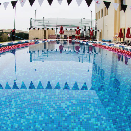 Fitness First Mudon Athletic Concept - outdoors swimming pool