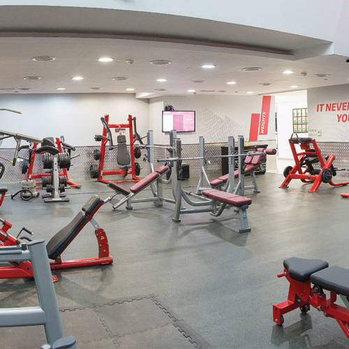 Fitness First Media City all body training equipment