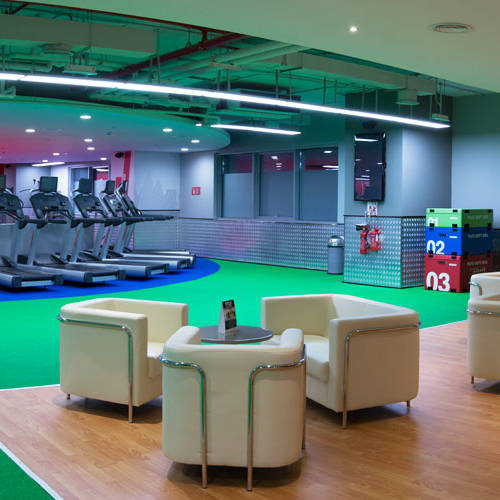 Fitness First Al-Barsha mall lounge