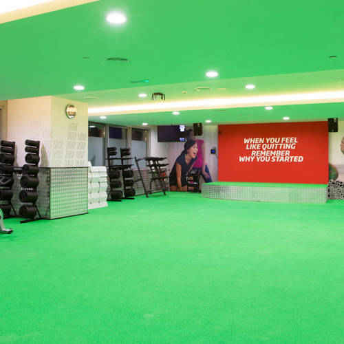 Fitness First Al-Barsha workout studio