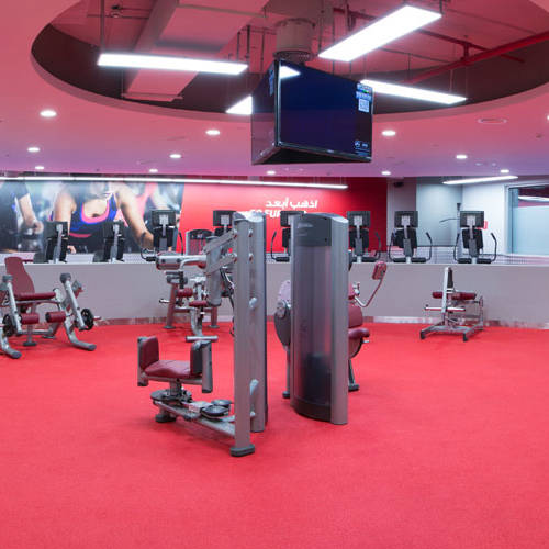 Fitness First Al-Barsha - freestyle and cardio training area