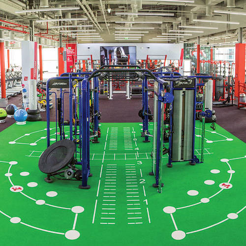 Inside Fitness First Business Bay Dubai