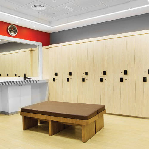 Fitness First Business bay Dubai locker room